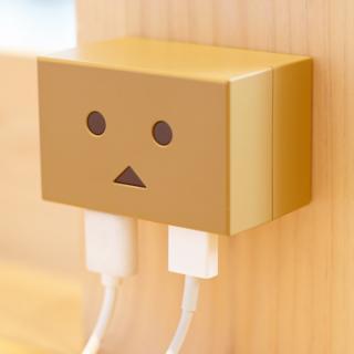 ダンボー USB ACアダプタ 2ポート 3.1A