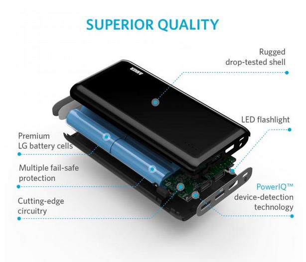 大容量モバイルバッテリー|厳選【7】