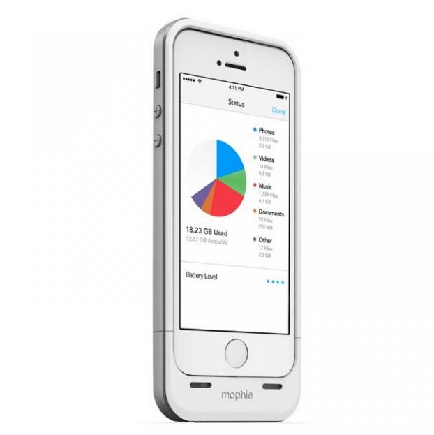 #終了しました|iPhone 5用バッテリーパック&ストレージ拡張ケース『mophie』セール