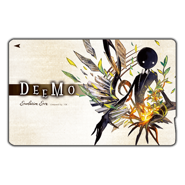 Deemo ICカードステッカー