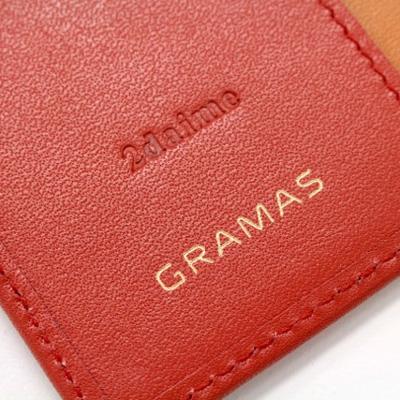 『GRAMAS フルレザー手帳型ケース』の刻印名入れサービスを始めました