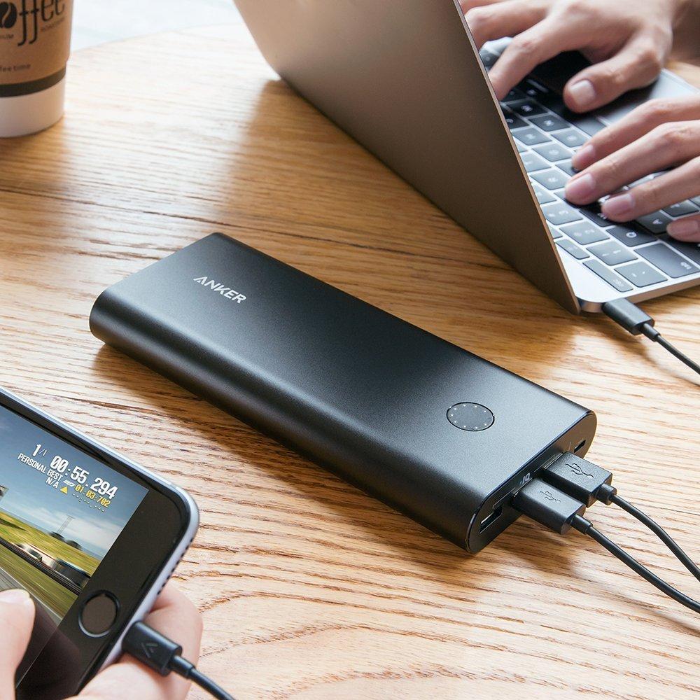 MacBookを充電できる新次元モバイルバッテリー Anker PowerCore+ 26800