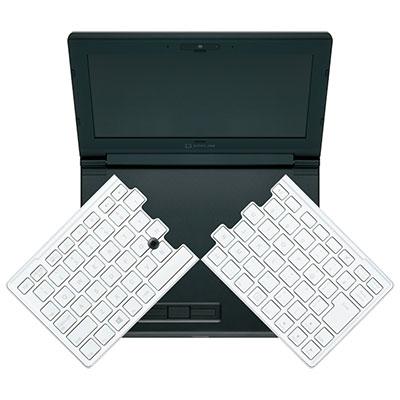 キーボードが割れるノートPCはなぜ作られたのか?「PORTABOOK KXMC10」