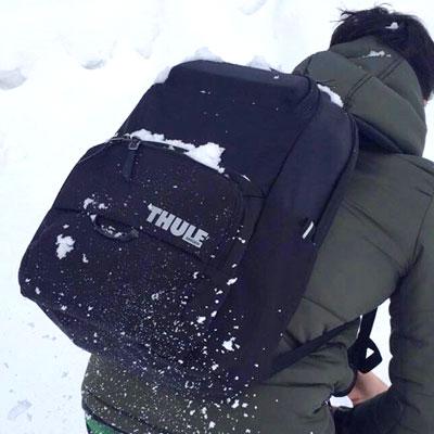 Thuleの新作バックパックを雪山で試す