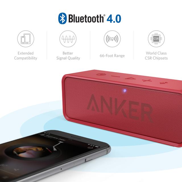 ウッ、イイ音! Anker SoundCore Bluetoothスピーカー