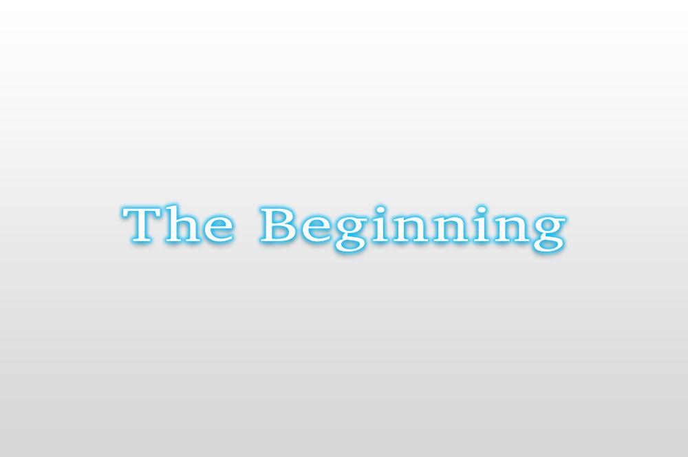 12.TheBeginning