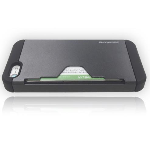 ICカードホルダー付きハードケース『Phonefoam Golf Fit』