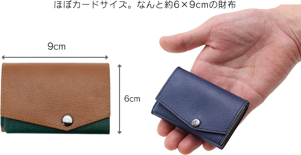 小さい財布の構造
