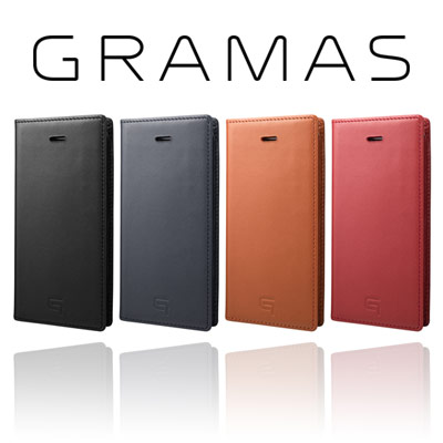 本革ケースの大本命『GRAMAS』のiPhone SE用モデル