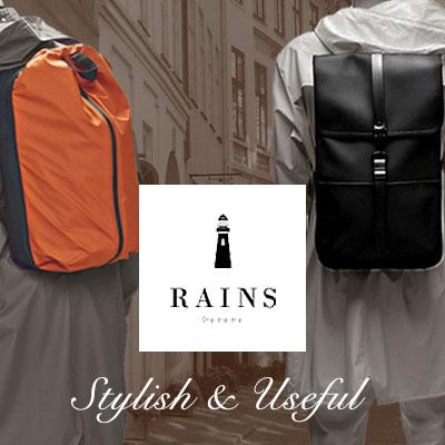 北欧生まれのスタイリッシュなバッグ「Rains」