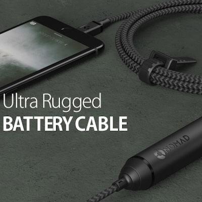 Lightningケーブルとモバイルバッテリーが合体!?これからはこれ1本でiPhoneの充電問題は解決!