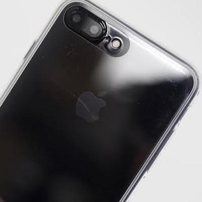 iPhone 7/7 Plus ジェットブラックが映える!?光沢感をより一層美しく魅せる背面ガラスクリアケース