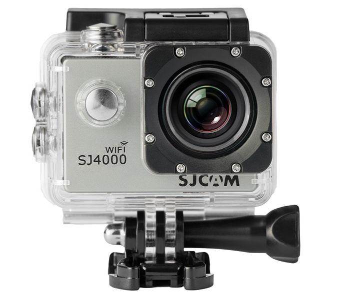 【国内正規品】SJCAM ウェアラブルカメラ SJ4000 wifi シルバー