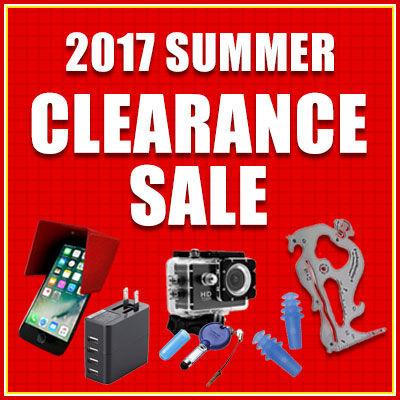 夏のクリアランスセール2017 〜iPhoneグッズやガジェットなどがお得に買える〜