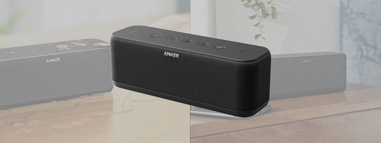Anker SoundCore Boost 防水Bluetoothスピーカー