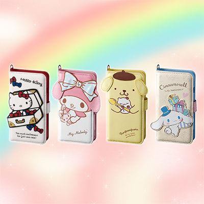 【サンリオ】ハローキティやマイメロなどの可愛いiPhone X対応ダイカット手帳型ケース登場!