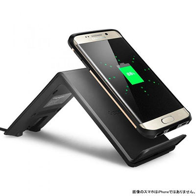 iPhone Xをワイヤレス充電できるSpigen Qi対応「ワイヤレス充電器 F303W」