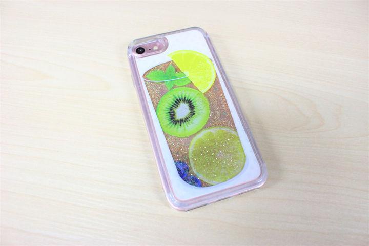 f219849557 フルーツをモチーフにした可愛いiPhone用グリッターケース「EYLE Glitter ...