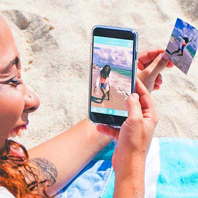 印刷した写真に動画を閉じ込める。スマホ用プリンター「LifePrint」
