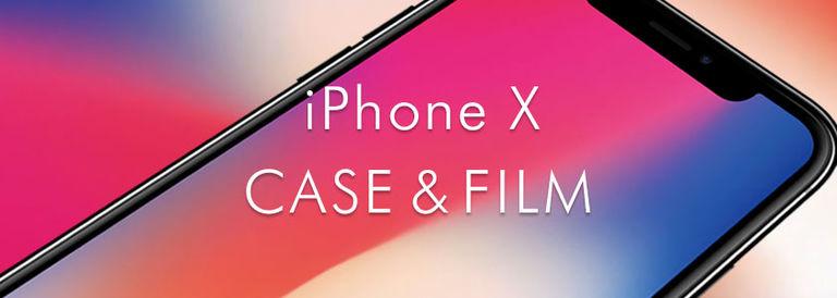 iPhone X ケース&保護フィルム