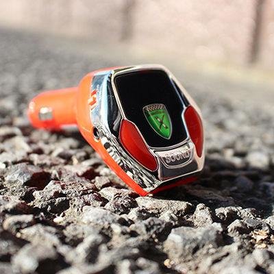 「SoundRacer X」愛車のシガーソケットに挿すだけでエンジン音がスーパーカーに![PR]