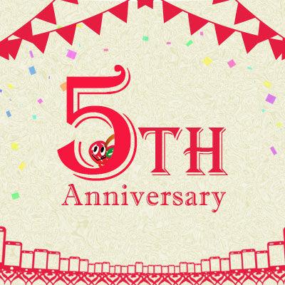 AppBank Store WEB店5周年記念キャンペーン