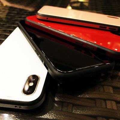 艶(あで)やかな魅惑のガラス。光沢感溢れるグロッシーなiPhoneケース「Hybrid CaseUNIO」