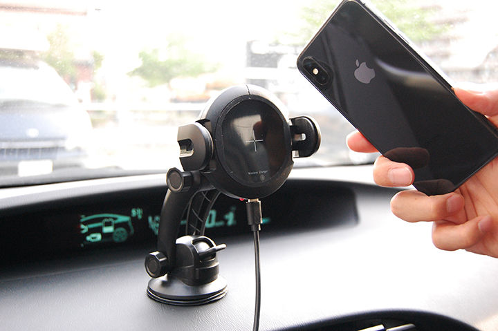 Automatic Smart Car Holder アイキャッチ