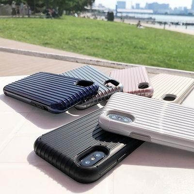 """足し算の美、ここに極まる。耐衝撃iPhoneケース「GRAMAS COLORS """"Rib"""" Hybrid case」"""