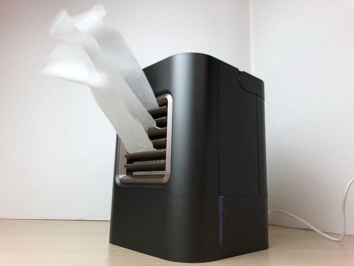 猛暑を涼しく乗り切るたった1つのガジェット「USB冷風扇 USF-12」
