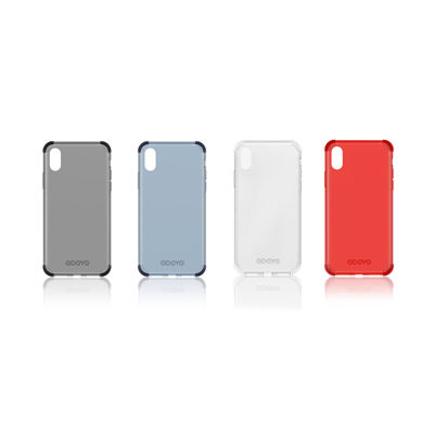 【iPhone XR/XS/XS Max】四隅にプロテクションを搭載したソフトクリアケース「ODOYO SOFTEDGE」の予約販売が始まった!