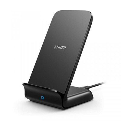 「Anker PowerWave 7.5 Stand」iPhone XR/XS/XS Maxを最大7.5W出力で急速充電するスタンド型ワイヤレス充電器が登場!