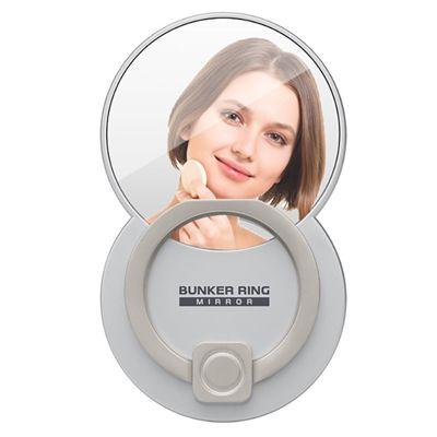 身だしなみに便利!ミラー一体型の落下防止リング「BUNKER RING Mirror」が登場!