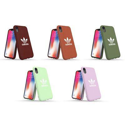 【iPhone XS/XS Max/XR】アディダスより、秋冬にマッチするニュアンスカラーiPhoneケース「Adicolor-Moulded Case」の販売を開始