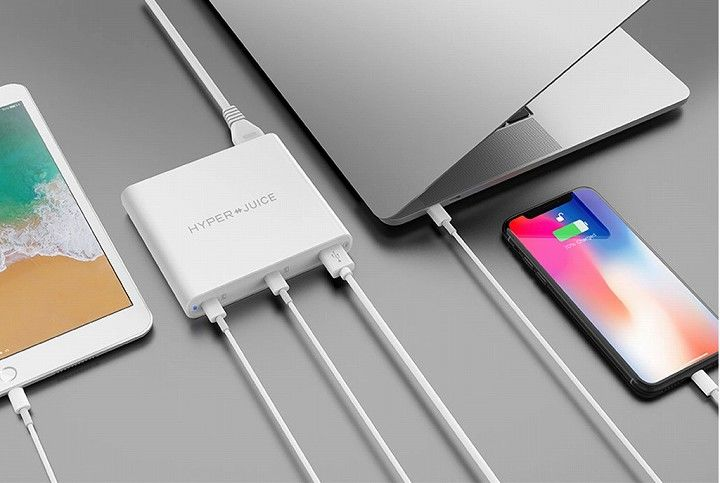 HyperJuice 87W Dual USB-C Adapter