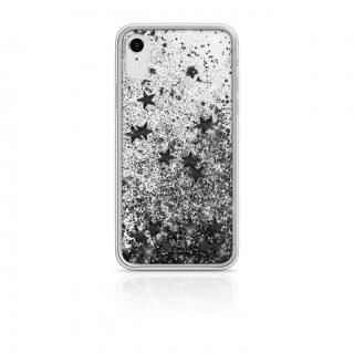 iPhone XR ケース White Diamonds Sperkle Case 背面ケース Black Stars iPhone XR