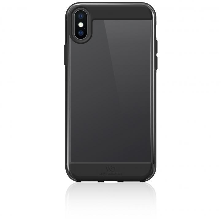 iPhone XS Max ケース White Diamonds Innocence Tough Case 背面ケース Clear Black iPhone XS Max_0