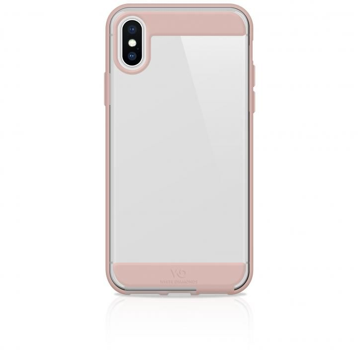 iPhone XS Max ケース White Diamonds Innocence Case 背面ケース Clear Rose Gold iPhone XS Max_0