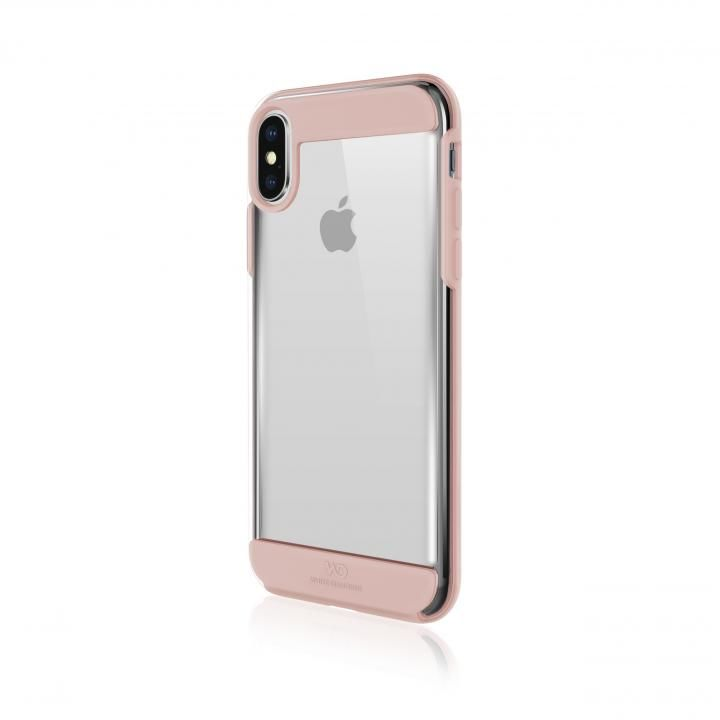 iPhone XS/X ケース White Diamonds Innocence Case 背面ケース Clear Rose Gold iPhone XS/X_0