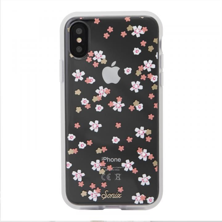 iPhone XS/X ケース Sonix EMBELLISHED CRYSTAL RHINESTONE 背面ケース FLORAL BUNCH iPhone XS/X_0