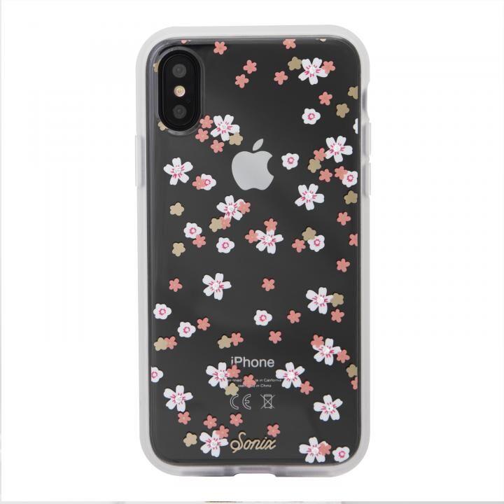 iPhone XR ケース Sonix EMBELLISHED CRYSTAL RHINESTONE 背面ケース FLORAL BUNCH iPhone XR【11月上旬】_0