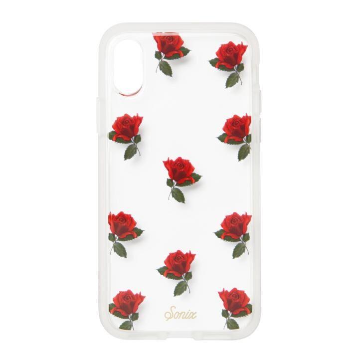 iPhone XS/X ケース Sonix CLEAR COAT 背面ケース ROSA iPhone XS/X_0