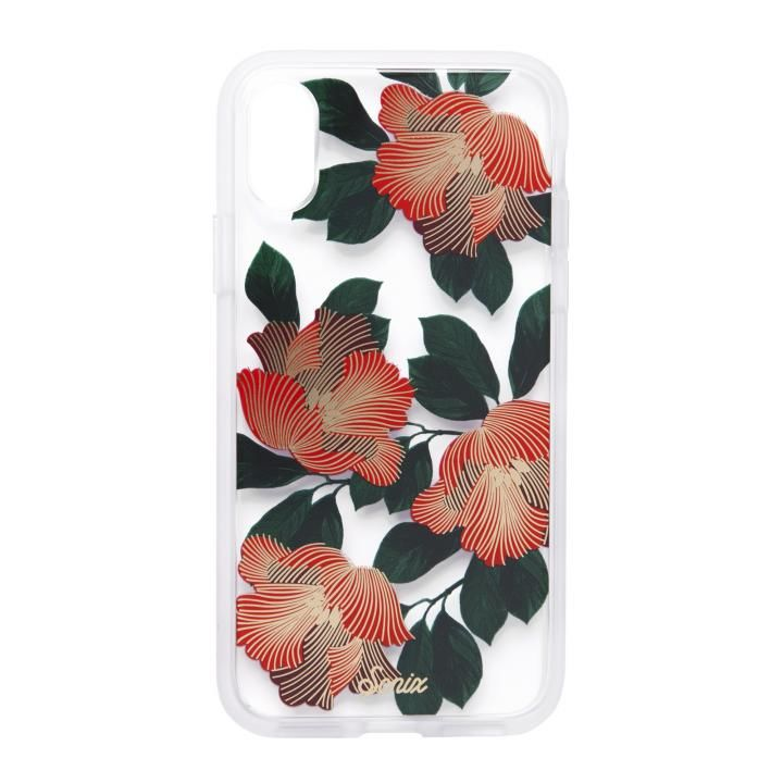 iPhone XS/X ケース Sonix CLEAR COAT 背面ケース TROPICAL DECO iPhone XS/X【9月上旬】_0
