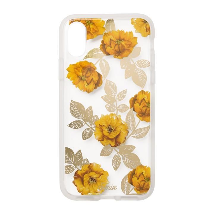 iPhone XS/X ケース Sonix CLEAR COAT 背面ケース AUTUMN FLORAL iPhone XS/X_0