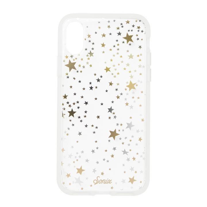 iPhone XS/X ケース Sonix CLEAR COAT 背面ケース STARRY NIGHT iPhone XS/X_0