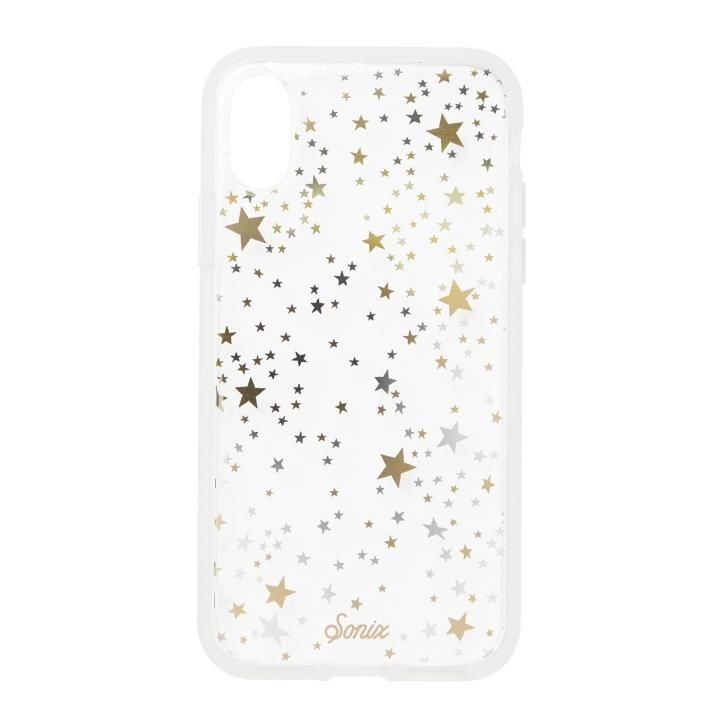 iPhone XS/X ケース Sonix CLEAR COAT 背面ケース STARRY NIGHT iPhone XS/X【3月下旬】_0