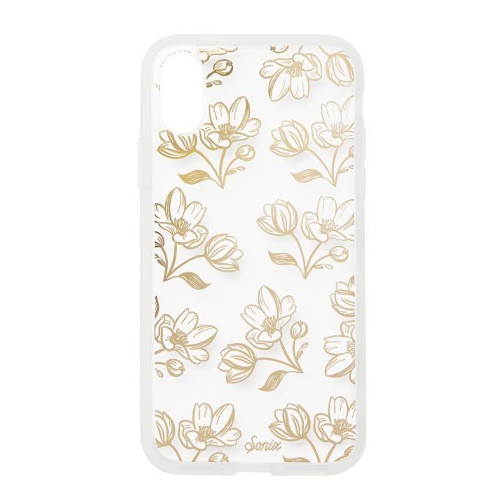 iPhone XS/X ケース Sonix CLEAR COAT 背面ケース SANTA MARIA - DAFFODIL iPhone XS/X_0