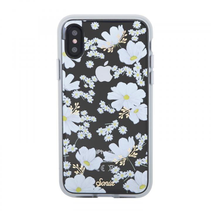 iPhone XS/X ケース Sonix CLEAR COAT 背面ケース DITSY DAISY iPhone XS/X【6月下旬】_0