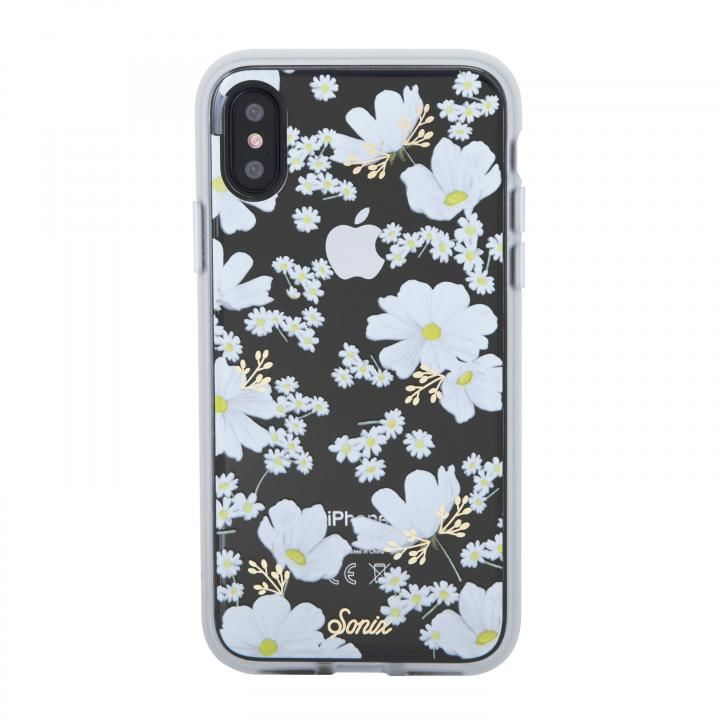 iPhone XS/X ケース Sonix CLEAR COAT 背面ケース DITSY DAISY iPhone XS/X_0