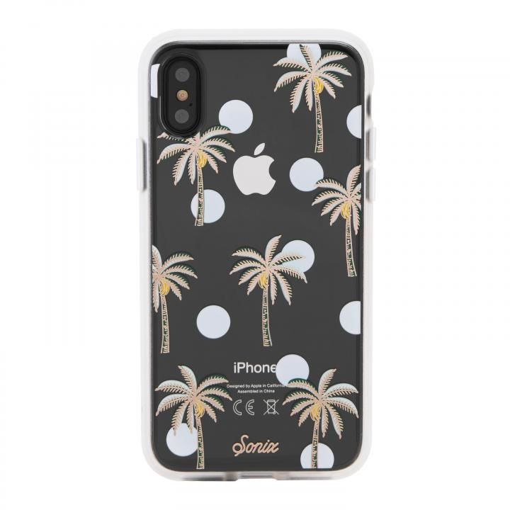 936fe7d866 Sonix CLEAR COAT 背面ケース BORA BORA iPhone XS/X